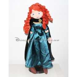 Doll plush Merida DISNEYLAND PARIS rebel Princess Disney 50 cm