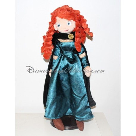 poup e peluche merida disney store rebelle princesse. Black Bedroom Furniture Sets. Home Design Ideas