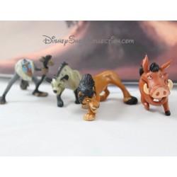 Figures The Lion King DISNEY Scar Hyena Rafiki and Pumba
