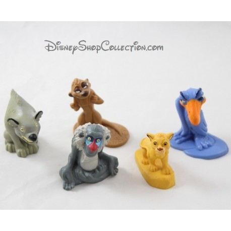 Figures The Lion King Disney Zazu Hyena Rafiki Simba And Timon Say