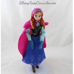 Anna DISNEY STORE Muñeca La Reina de las Nieves articulada de 30 cm