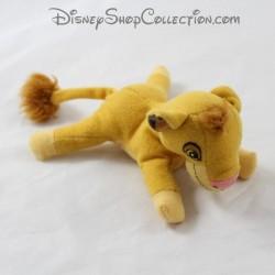 Mini peluche Simba DISNEY Le Roi Lion jaune 12 cm