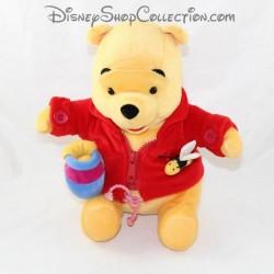 Peluche éducative NICOTOY Disney Winnie l'ourson Apprendre à s'habiller 28 cm