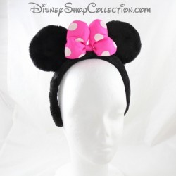 Minnie DISNEY STORE diadema de nudo rosa