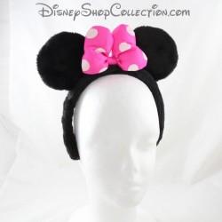 Serre-tête Minnie DISNEY STORE oreilles de Minnie Mouse noeud rose