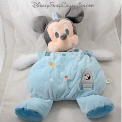 Peluche range pajamas Mickey DISNEY BABY blue planets rocket bag