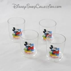 Digestive glass DISNEYLAND PARIS Mickey shots shot shot 4 glasses 5 cm