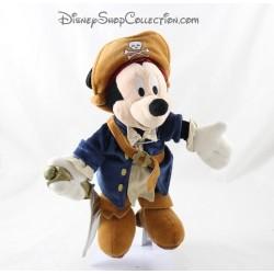 Mickey DISNEYLAND PARIS cachorro pirata del Caribe Azul Marrón 26 cm