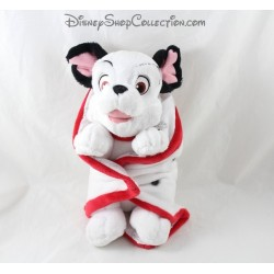 Disney NICOTOY Dog Stuff the 101 Dalmatians black blanket white 27 cm