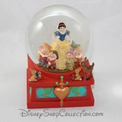 Globo de nieve DISNEY Blancanieves y los 7 enanos bola de nieve 18 cm