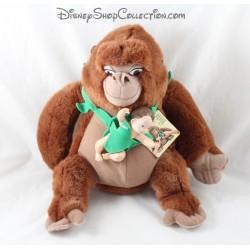 Peluche Kala singe DISNEY Tarzan bébé Jungle Heart vintage rare