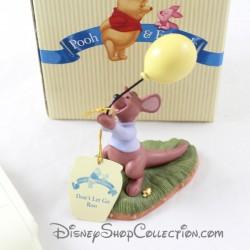 Figurine P'tit Gourou DISNEY Don't let go Roo Pooh & friends porcelaine
