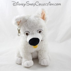 Dog peluche Volt JEMINI Disney Volt star despite himself white pocket at back 28 cm