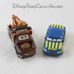 Lot of 2 metal cars Martin and Tom MATTEL Disney Pixar Cars 8 cm