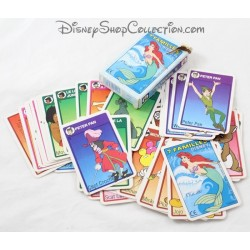 7 Family Disney Peter Pan Family 7 Card Game, The Little Mermaid ...