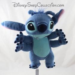 Peluche Stitch DISNEY Lilo et Stitch bleu 4 bras 23 cm