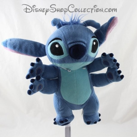 Peluche Stitch DISNEY Lilo et Stitch bleu 4 bras