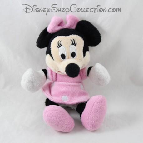 Minnie DISNEY clásico vestido rosa con lunares 20 cm