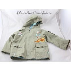 Disney BABY y Tigki chaqueta impermeable a mitad de temporada