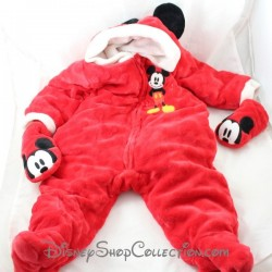 Mickey DISNEY STORE polar red jumpsuit