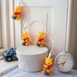 Guirlande lumineuse DISNEY Winnie l'ourson 10 figurines