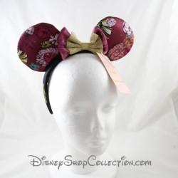 Serre-tête Minnie Parisienne DISNEYLAND PARIS Bohème oreilles de Minnie Mouse noeud doré Disney