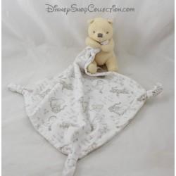 Winnie the Pooh's handkerchief DISNEY STORE Baby 3 knots Disney Store 42 cm