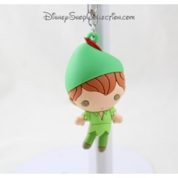 Porte clés 3D Peter Pan DISNEYLAND PARIS pvc souple Disney 6 cm