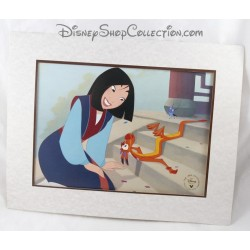 Lithograph DISNEY STORE The 1999 Lithograph Collection Mulan 35 x 28 cm