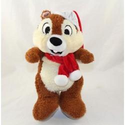 Cachorro de ardilla Tic DISNEYLAND PARIS Tic y Feliz Navidad Tac 30 cm