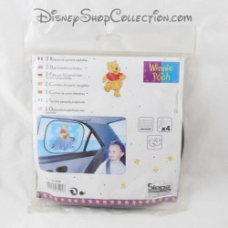 Sun pare car SIEPAS Disney Winnie and Bourriquet door curtains