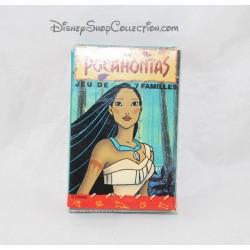 Jeu de cartes 7 familles Pocahontas DISNEY Ducale 1999