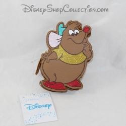 Gus Gus ratón cartera de plata DISNEY Cenicienta marrón 14 cm
