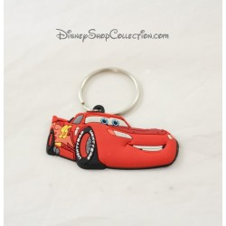 Porte clés Flash Mcqueen DISNEY Cars voiture rouge 7 cm