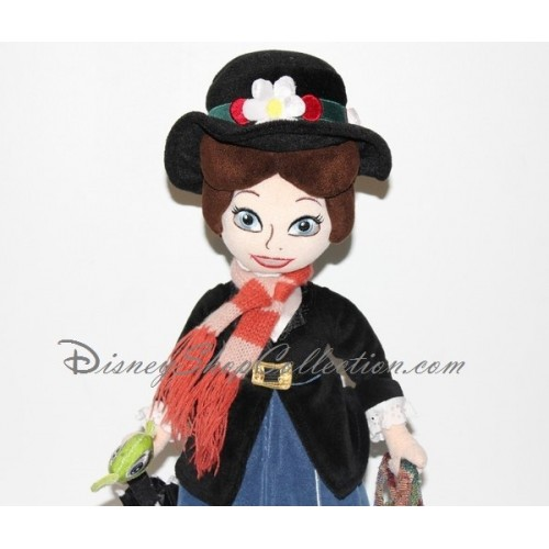 poup e peluche mary poppins disney store 50 cm. Black Bedroom Furniture Sets. Home Design Ideas
