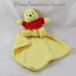 Pañuelo doudou Winnie the Pooh POSH PAWS Disney pañuelo en la parte posterior 12 cm