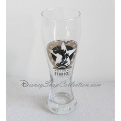 Beer Mickey WALT DISNEY STUDIOS Paris fragile 23 cm glass