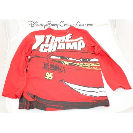 Flash McQueen C-A Disney Cars Tee Shirt Boy 7 Years Old