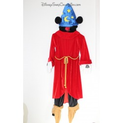 Mickey DISNEYLAND PARIS Fantasia Mickey Magician Disguise 5-6 Years Old