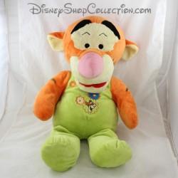 Grande peluche Tigrou NICOTOY Disney tenue verte 53 cm