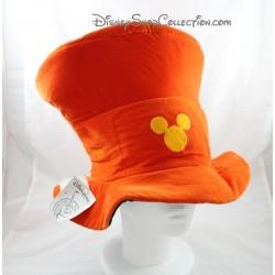 Chapeau Halloween DISNEYLAND PARIS haut de forme orange tête de Mickey