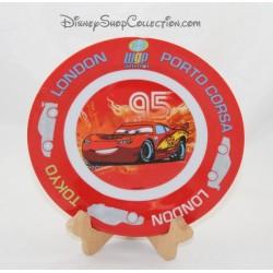 Assiette céramique Flash Mcqueen DISNEY Cars voiture course 19 cm