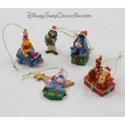 Lot ornaments Winnie the Pooh DISNEY Christmas tree decorations