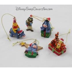 Lot ornements Winnie l'ourson DISNEY décorations de sapin Noël