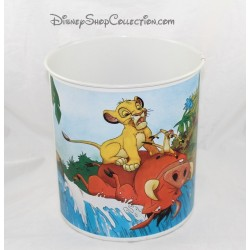 Paper basket The Lion King DISNEY trash vintage metal Brabantia 23 cm