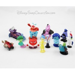 Lot de 12 figurines Vice Versa DISNEY pvc 6 cm