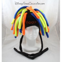 Dingo Goofy DISNEYLAND PARIS dreadlocks amarillo naranja polar azul