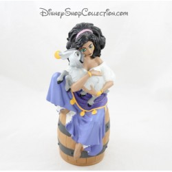 Tirelire Esmeralda DISNEY Le Bossu de Notre Dame tonneau grande figurine Pvc 25 cm