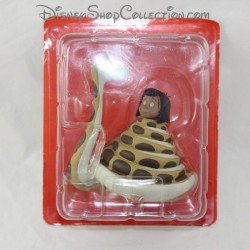 Mowgli resin figure and Kaa HACHETTE Disney The jungle book statuette resin 11 cm