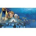 Film Atlantide Walt Disney - produits dérivés
